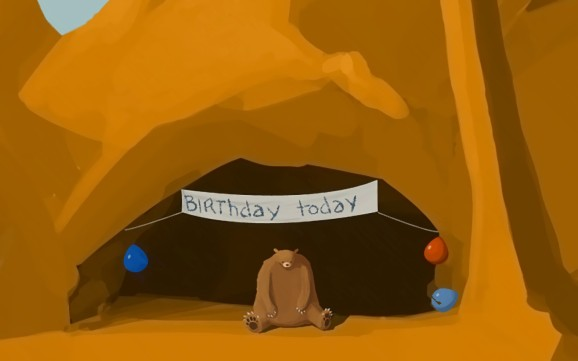 Image result for birthday alone